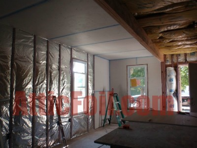 Wall Application 2 AtticFoil Radiant Barrier