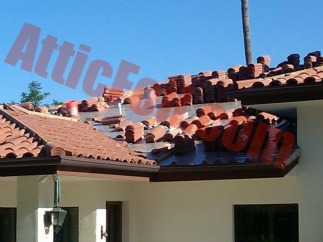under tile roof radiant barrier foil 1