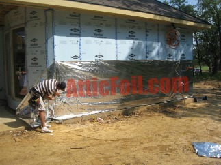 house wrap radiant barrier atticfoil landing page