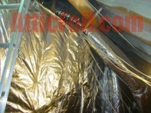 Knee Walls Atticfoil 174 Radiant Barrier Do It Yourself