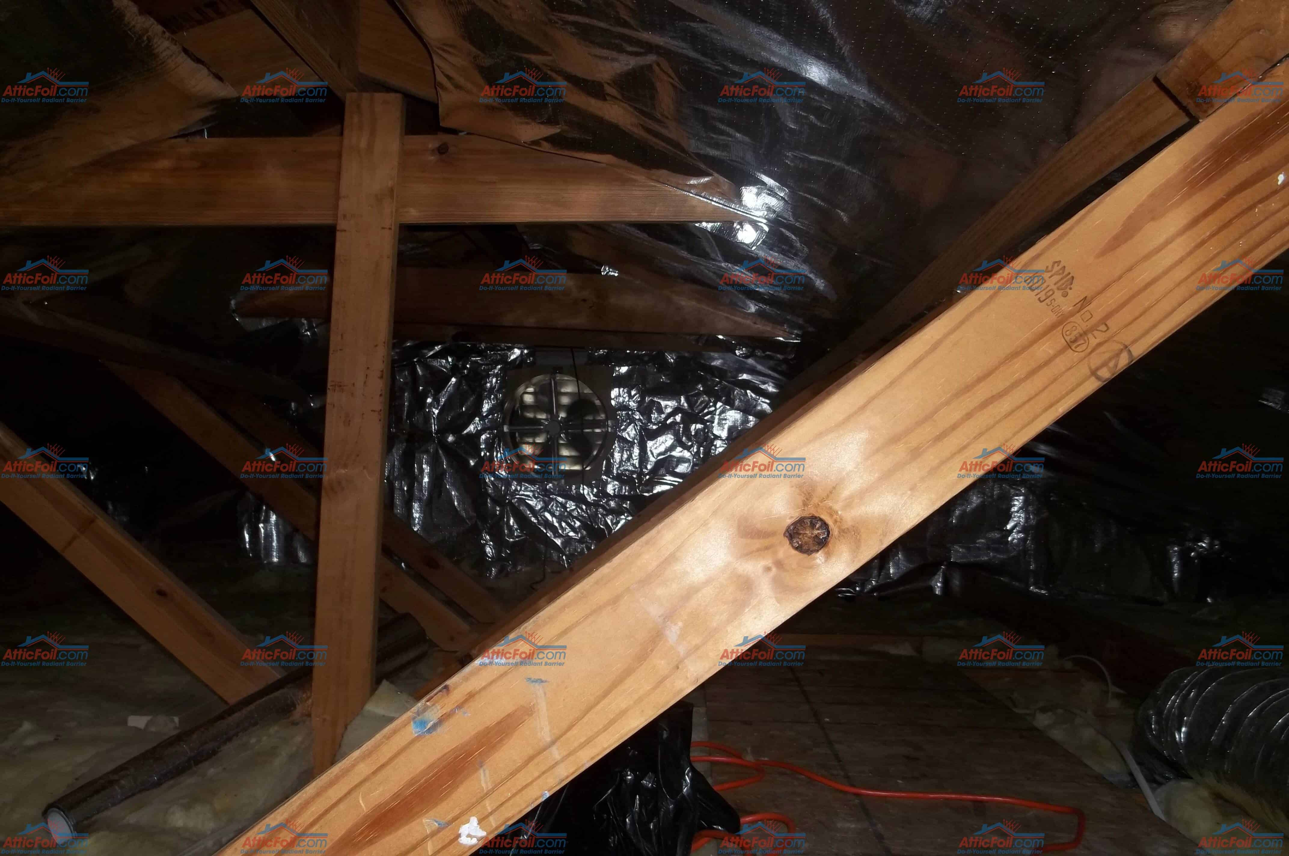 To see complete install instructions for a traditional rafter attic go here. To see complete install info for a truss attic go here. & Gallery: Staple Up Installs - AtticFoil™ Radiant Barrier - Do-It ...