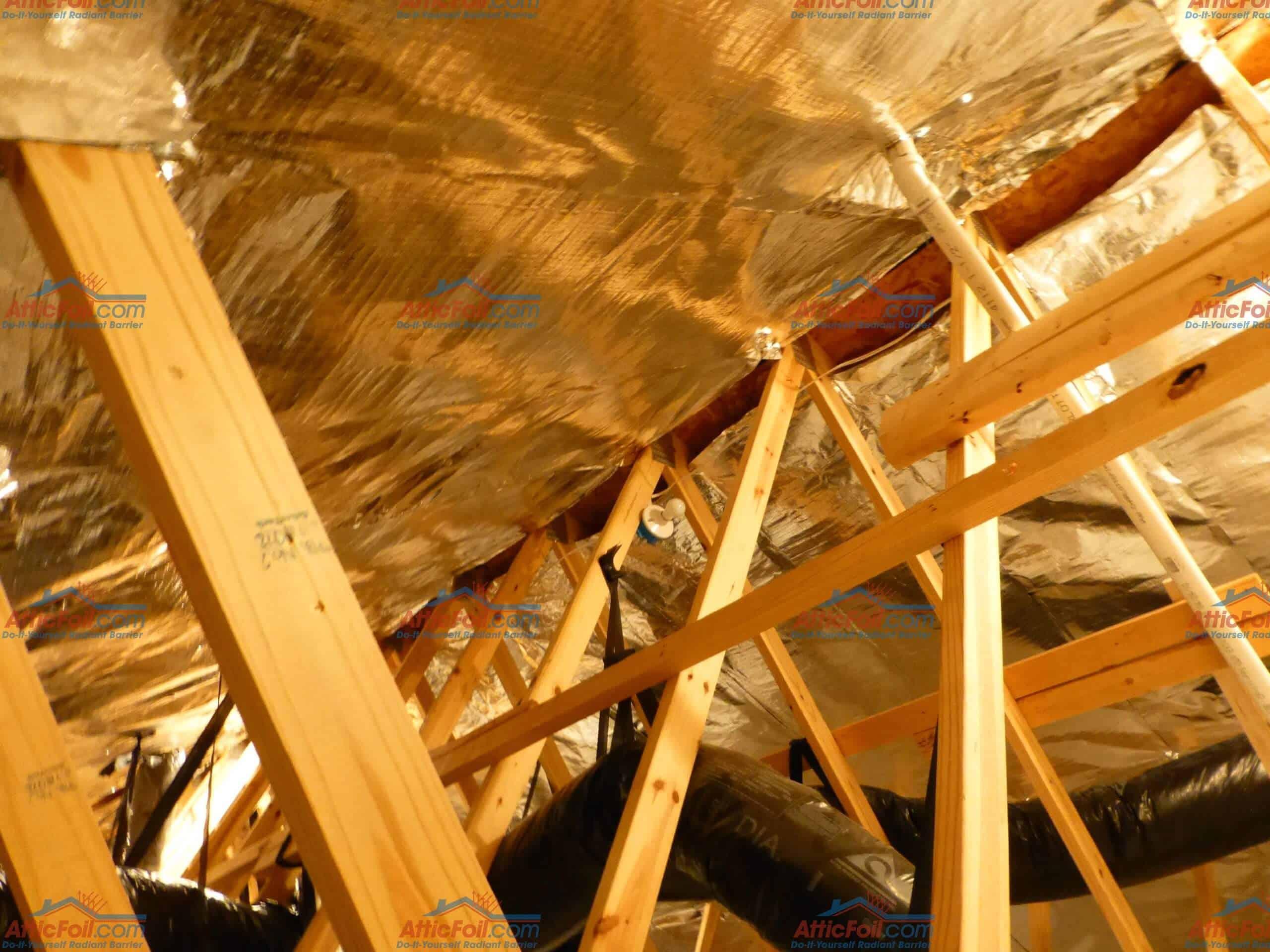 Watermarked 26 Wide AtticFoil Installation 47 - AtticFoil
