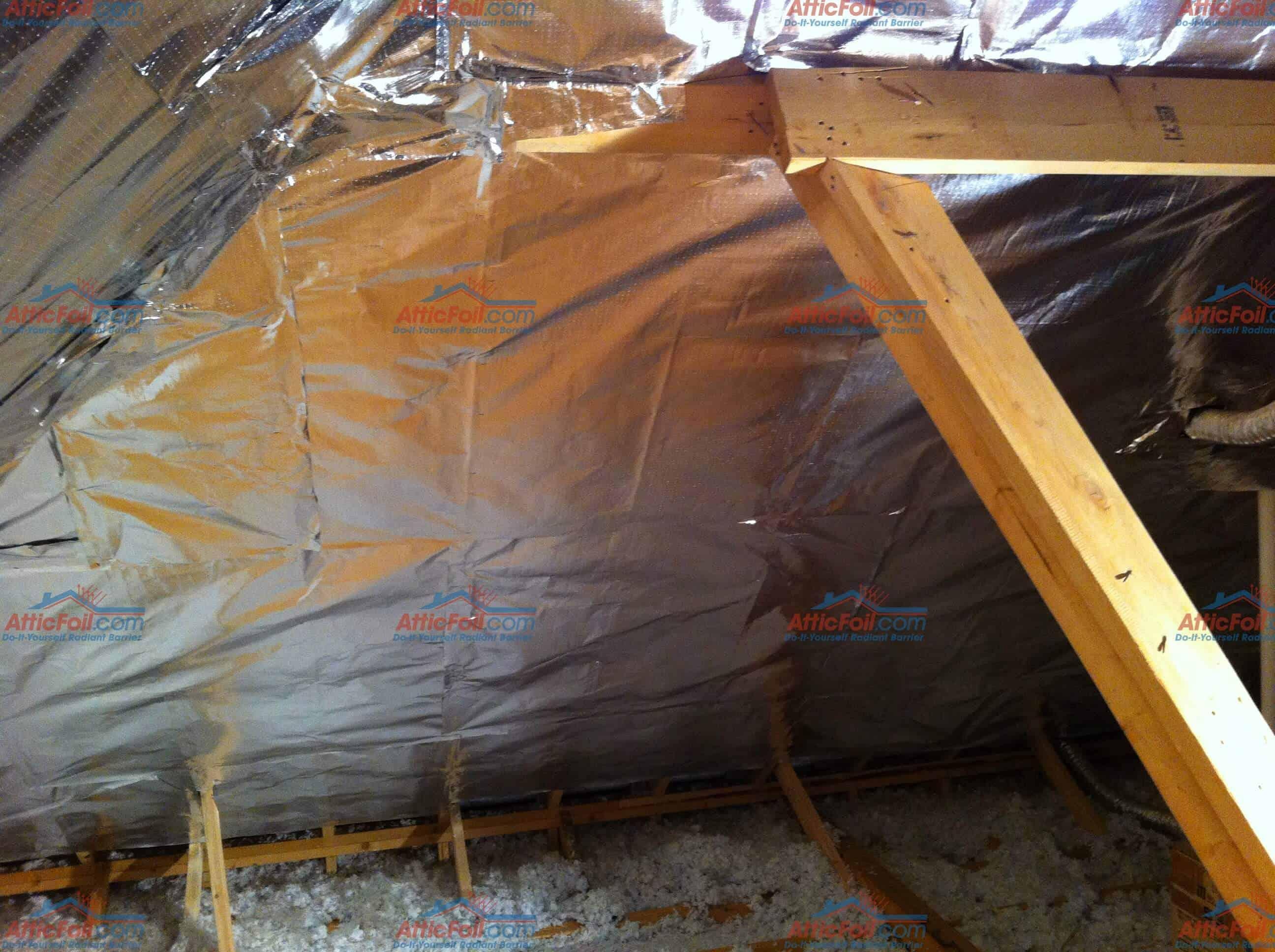 Gallery Staple Up Installs Atticfoil Radiant Barrier
