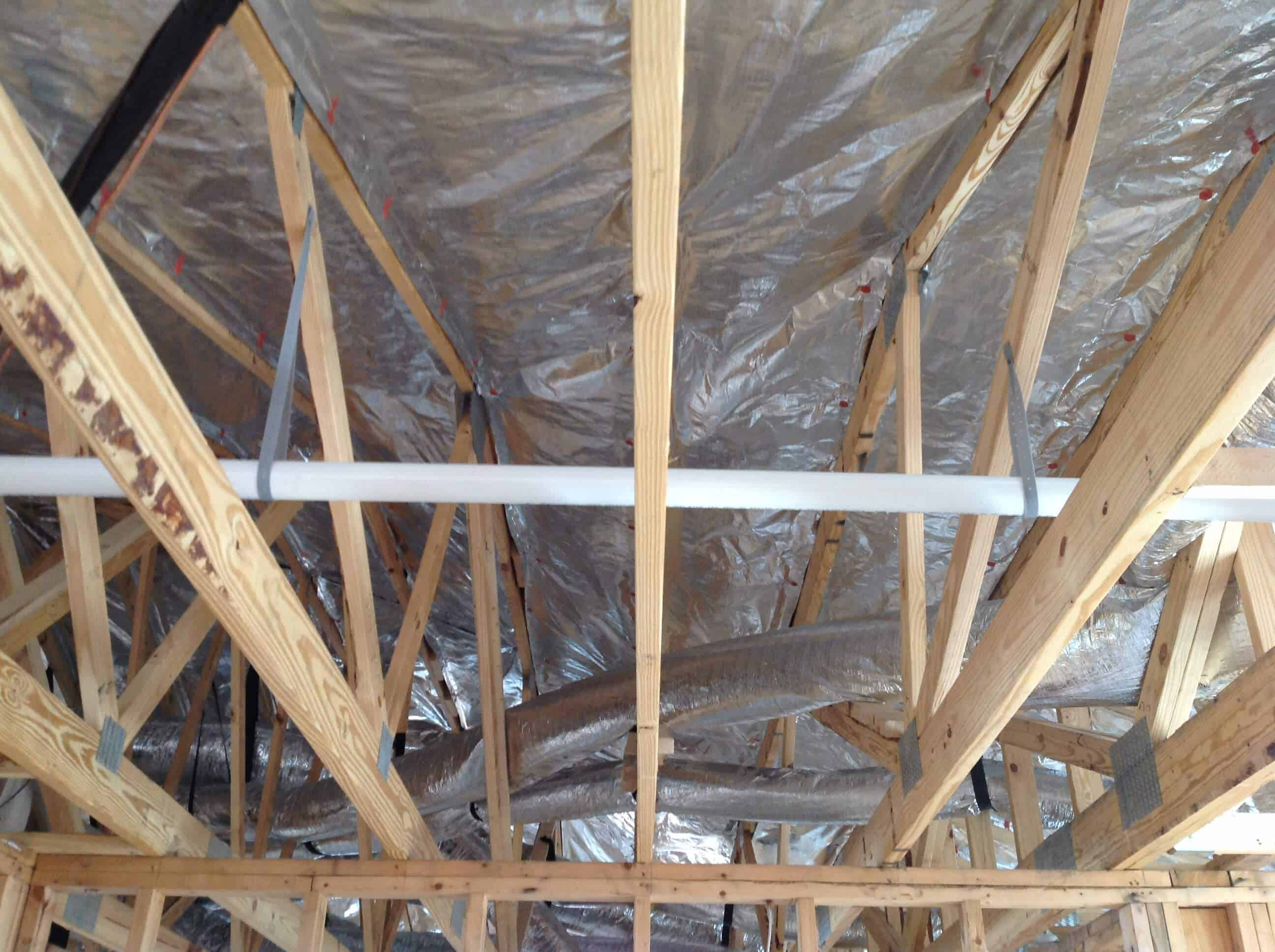 Gallery Truss Attic Installs Atticfoil Radiant Barrier