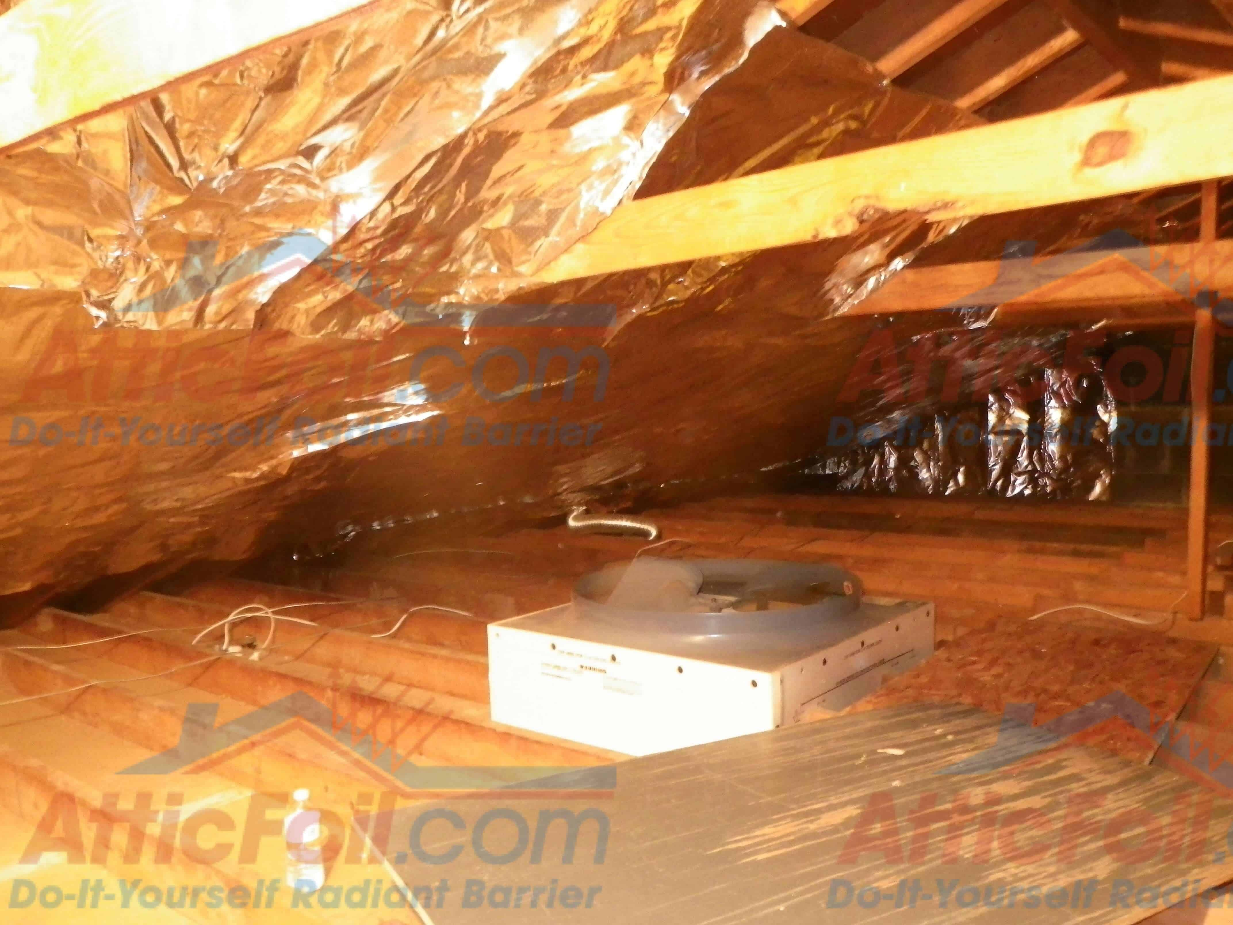 Gallery staple up installs atticfoil radiant barrier do it to see complete install instructions for a traditional rafter attic go here to see complete install info for a truss attic go here solutioingenieria Choice Image