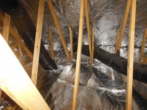 In this method the radiant barrier foil is stapled on the bottom of the rafters inside the attic. During the installation you will work to leave a gap at ... & Hybrid Install - AtticFoil™ Radiant Barrier - Do-It-Yourself ...