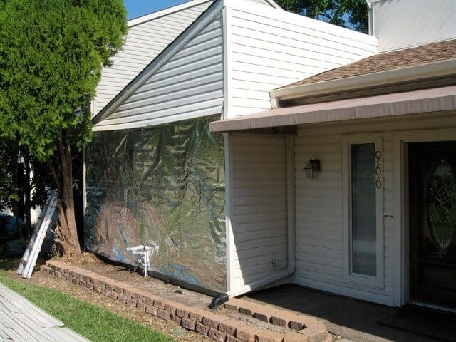 House Wrap Behind Siding Atticfoil Radiant Barrier Do It
