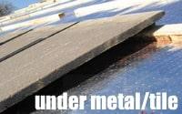 Under Metal / Tile
