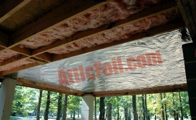 Under your home in crawlspaces atticfoil radiant barrier do it using atticfoil radiant barrier in a crawlspace solutioingenieria Choice Image