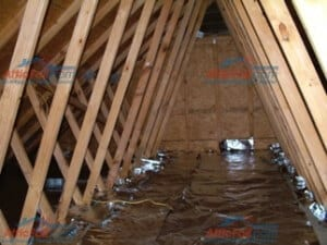 Over The Insulation Install Atticfoil Radiant Barrier