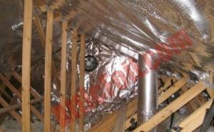 Gable Wall Install Atticfoil Radiant Barrier Do It
