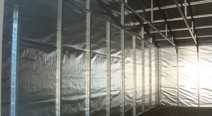Solid Double Sided Radiant Barrier Foil 48 Quot Wide