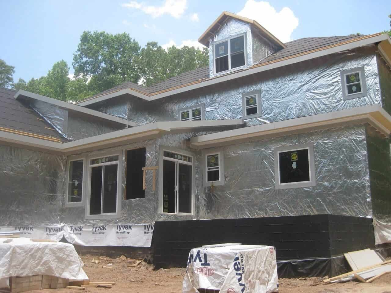 Gallery House Wrap Installs Atticfoil Radiant Barrier Do It
