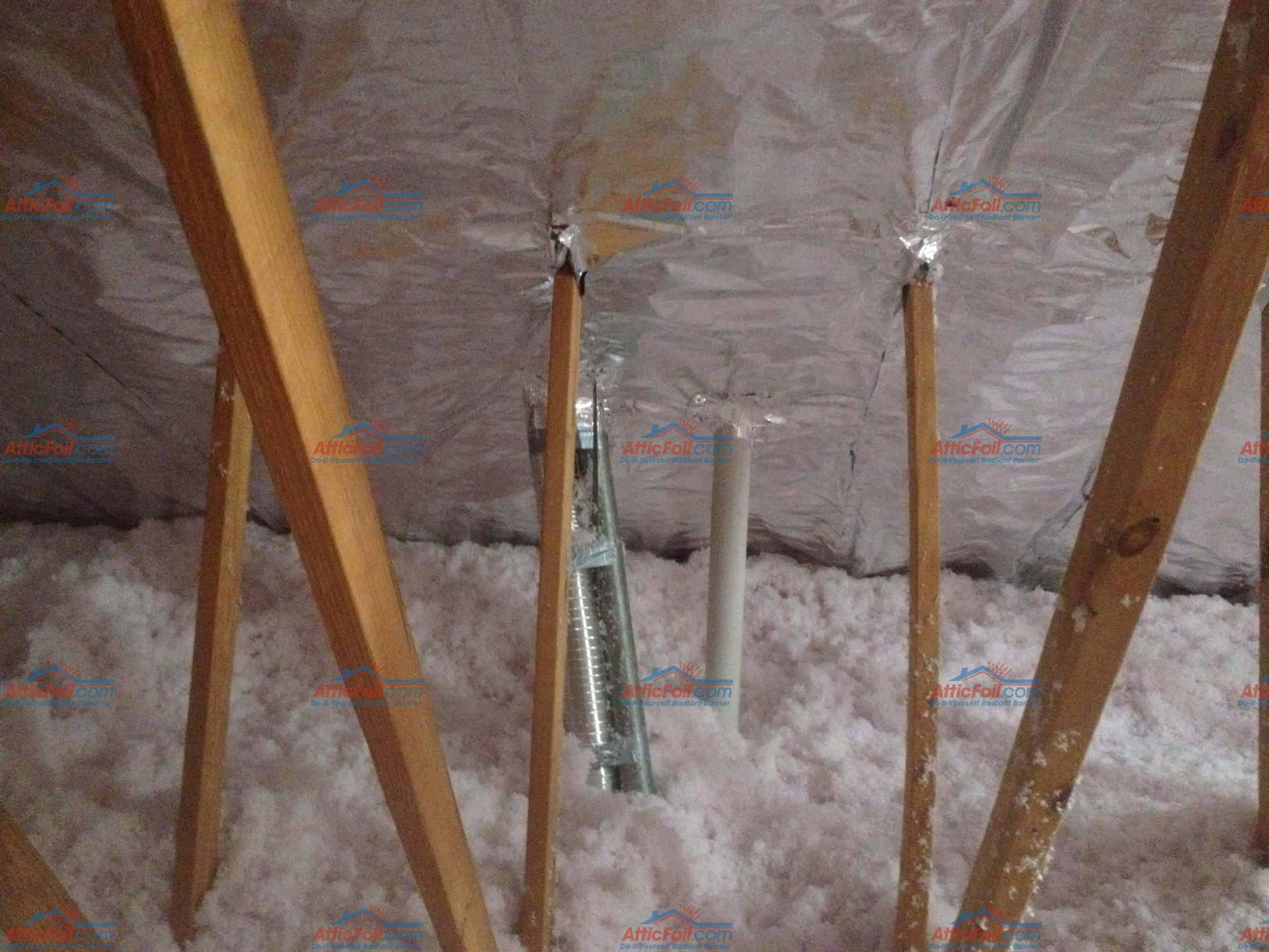 DIY Project Gallery - AtticFoil™ Radiant Barrier - Do-It