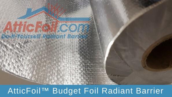 AtticFoil Budget Foil Radiant Barrier
